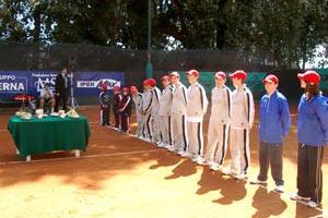 I raccattapalla del Torneo Internazionale di Tennis Future 2005