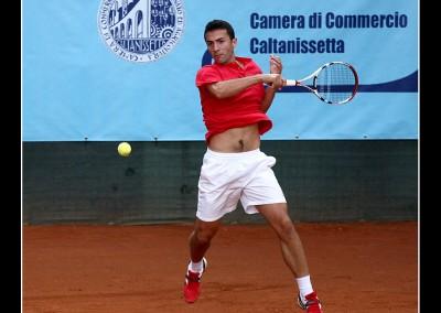 Gianluca Naso in gara al Torneo