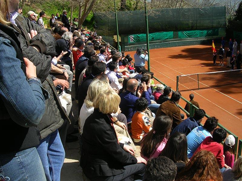Il pubblico che ha seguito il Torneo Challenger Caltanissetta 2011