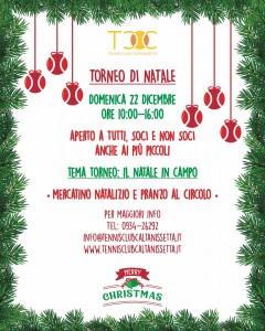 Il Torneo di Natale del TCC Villa Amedeo