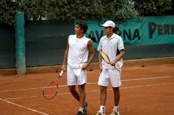 La coppia di giocatori del Torneo doppio Future 2007