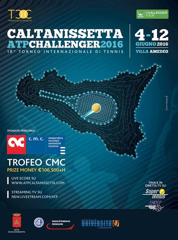 Torneo di tennis ATP Challenger 2016 - Tennis Club Caltanissetta