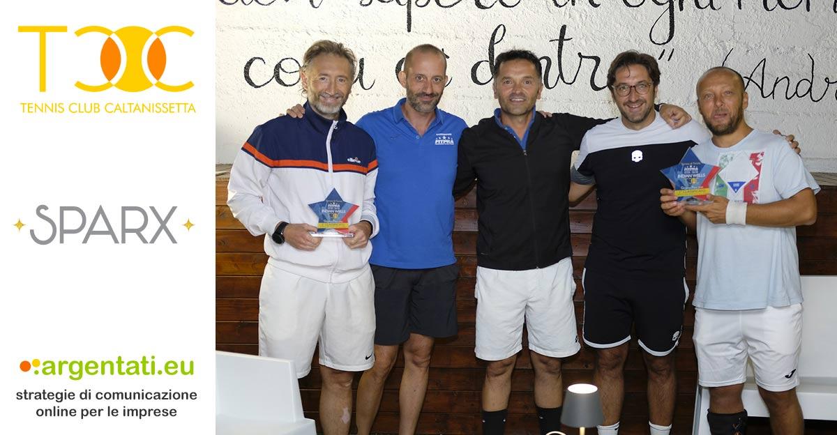 da Sinistra Gerlando Gramaglia, Marco Pirrello, Claudio Miccichè, Gianluca Nicosia e Gigi Dettori
