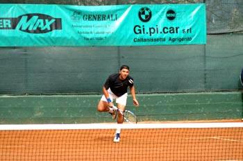Uno dei giocatori nonché vincitore del Torneo Internazionale di Tennis Future 2007
